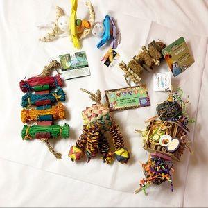 Small/Medium Pet Bird Parrot Toys 5 Pieces